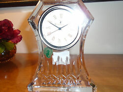 Waterford Crystal Large Lismore 6.5 Clock New In Box 285 Current Retail