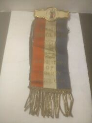 Daughters Of Liberty Hope Council No. 25 Ribbon Galion Ohio Oh