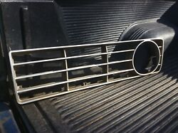 1973 Ford F100  Grille Insert   Drivers Side Original Used No Damage