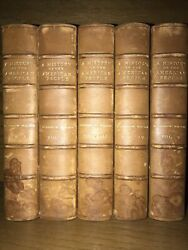 Leather Sethistory Of The American Woodrow Wilson United States First Edition
