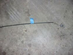 1963 64 Buick Wildcat Electra Right Vent Cable With Chrome Knob Oe