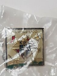 Knights Of Columbus K Of C New Mexico State Pin