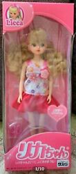 Licca Discontinued Extra Rare Flower Rika-chan Doll Vintage Fw42 Takara Tomy