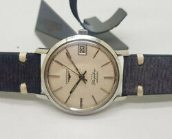 Rare Vintage Longines Flagship Silver Dial Date Auto Movement Manand039s Watch