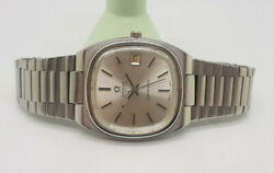 Vintage 1979 Omega Seamaster Silver Dial Date 1010 Automatic Manand039s Watch
