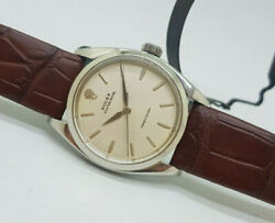Rare Vintage Rolex Oyster Royal Precision 6426 Silver Dial Manand039s Watch
