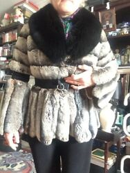 Fur Coat . All Info On Photos. Fox And Chinchilla