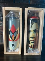Obey Shepard Fairey X Montana Spray Can - Target Exceptions And Lotus Signed