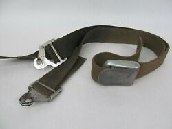 Vintage Oem Genuine 1950s 1960s Ford Mustang Seat Belt W/ Bn-2313 Anchors