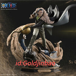 Soul Wing One Piece Sir Crocodile Resin Model Painted Statue In Stock In Box New