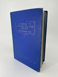 1942 Blue Book 1st First Edition R.s. Yeoman Handbook Of U.s. Coins
