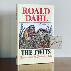 Signed The Twits Roald Dahl. 1985. Illust. Quentin Blake. 1st Edition 1/4. F/vg