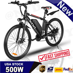 Vivi 26 350w Electric Bike Mountain Bicycle Ebike Shimano 21speed 36v E 05 B 40