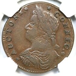 1787 32.2-x.2 R-5 Ngc Xf 45 Connecticut Colonial Copper Coin