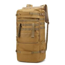 Tactical 60l Large Capacity Hunting Bag Molle Oxford Waterproof Backpack