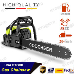 2-stroke Handed Petrol Chainsaws Gasoline Chain Saw Garden Tool For Cutting Wood