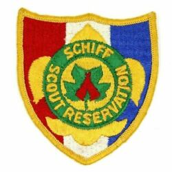 Vintage Schiff Scout Reservation Theodore Roosevelt Council Patch Boy Scouts Bsa