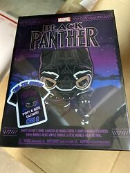 Funko Pop Black Panther Small T-shirt And Gitd Funko Pop Target Exclusive Box