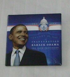 Official Inaugural Committee 2009 Barack Obama Inauguration Day Button - New