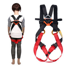 Child Full Body Climbing Harness Kidand039s Fall Protection Equipment S/m/l