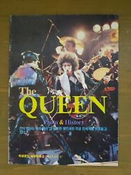 Rare Vintage 1984 The Queen Photo And History Korea Magazine Book Music Collection