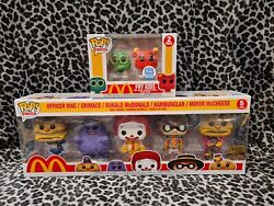 Funko Pop Mcdonalds 5 Pack Ad Icons Golden Arches + Funko Exclusive Fry Kids