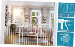 Extra Wide Baby Gates Auto Close Child Safety Gates For Stairs 57.5-62 Inch