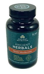 Ancient Apothecary Fermented Multi Mushroom 90 Capsules Supplement Exp 06/2022