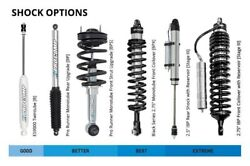 For Ford F-250 Super Duty 2017-2019 Pro Comp 4 Front Coilover Upgrade Lift Kit