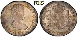 1823-pts Bolivia 2 Reales Pcgs Ms65