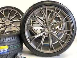 20 Inch Wheels Rims And Tires Fit Bmw M5 Brass Grayis M6 5x120 Grass Gray New M5