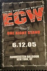 Ecw Official Souvenir Program Signed By Very Many Superstars