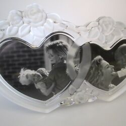 Mikasa Double Heart Picture Frame