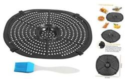Air Fryer Replacement Grill Pan For Power Xl 7qt Crisper Plate With Brush Set