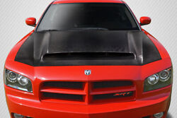 Carbon Creations Demon Look Hood - 1 Piece For 2006-2010 Charger