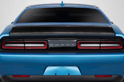 Carbon Creations Iconic Rear Wing Trunk Lid Spoiler 1pc For 2008-2020 Challenger