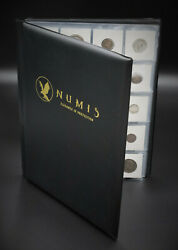 Numis Coin Collecting Album Fits 200 Flip Cases Enjoy Your Coins