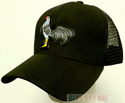 High Frequency American Mexican Rooster Cock Chicken Fowl Mesh Trucker Cap Hat