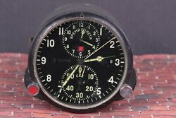 Achs-1 Clock Airforce For Su Mig Soviet Military Ussr Cockpit Air Force