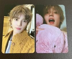 Nct2020 Taeyong Resonance Pt.2 Official Photo Card Arrival Departure Set