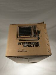 Interphase Spectra 12vdc Fish Finder And Depth Locator - Interphase Technologies