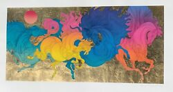 Guillaume Azoulay Winners Serigraph On Paper Hand Signed And Numbered Coa