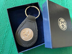 Us Mint Leather Key Fob First Edition 1999 Delaware Heritage State Quarter