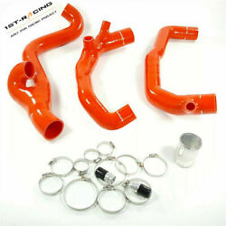 2 Silicone Turbo Inlet+outlet Pipe Fit Bmw E90 E92 E93 335i 335xi N54 3.0