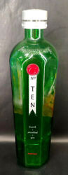 Vintage 18 Tanqueray No. 10 Gin Promotional 3l Empty Display Bottle / Factice