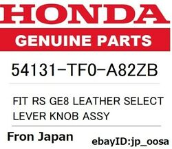 Honda Genuine Fit Rs Ge8 Leather Select Lever Knob Assy