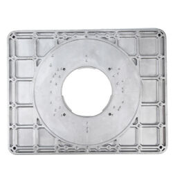 Aluminum Alloy Router Table Insert Plate With Insertion Ring And Install Screws