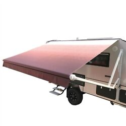 Rv Awning Complete Electric Arms Kit Motorized Retractable Trailer Awning Red 10