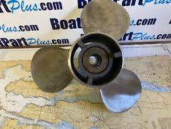 Quicksilver 48-16319a4 Propeller Ss Ven 13.75 X 21 Lh - Used - See Photo