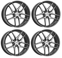 4 Dotz Lagunaseca Dark Wheels 9.0jx20 5x112 For Volkswagen Arteon Beetle Golf Id